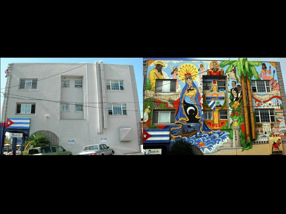 Pambiche mural before+after