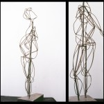 This piece was based off of gesture drawings from a live model. 